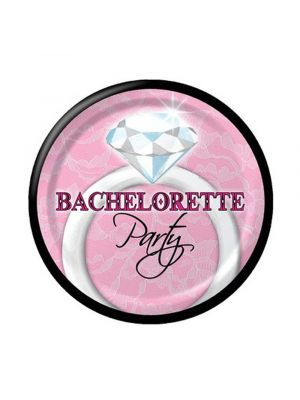 Bachelorette Party Diamond ring plates