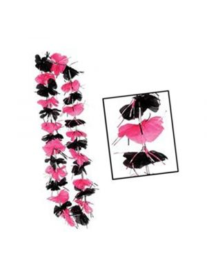 Pink and Black Hens Party Lei