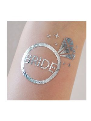 Bride Diamond Ring Tattoo
