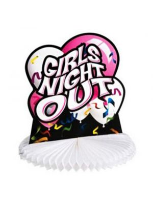 Girls Night Out Honeycomb Centrepiece
