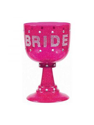 Bride Pink Goblet Cup