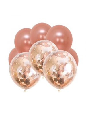 Rose Gold Balloons