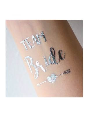 Silver Team Bride Tattoo