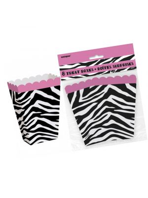 Zebra Treat Boxes