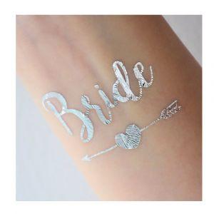 Bride Arrow Tattoo