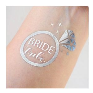 silver bride tribe tattoo
