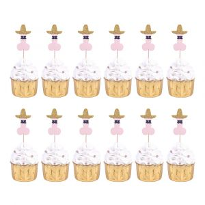 Fiesta Willy Cupcake Toppers