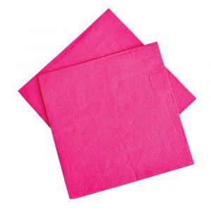 hot pink napkins