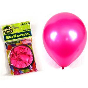 Metallic Hot Pink Balloons