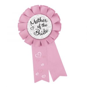 Mother of the Bride Hens Party Badge