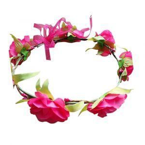 Pink Floral Garland