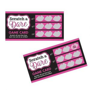 Hens Party Scratch Dare Game Pack